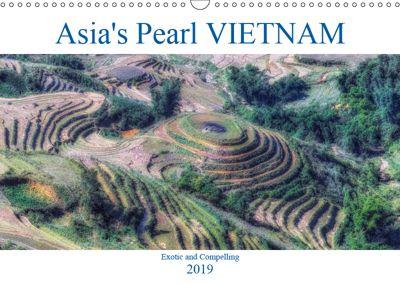 Asia's Pearl Vietnam (Wall Calendar 2019 DIN A3 Landscape), Joana Kruse
