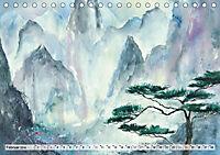 Asiatische Aquarelle (Tischkalender 2019 DIN A5 quer) - Produktdetailbild 2
