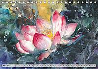 Asiatische Aquarelle (Tischkalender 2019 DIN A5 quer) - Produktdetailbild 3