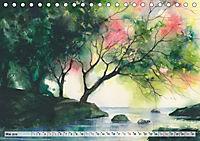 Asiatische Aquarelle (Tischkalender 2019 DIN A5 quer) - Produktdetailbild 5