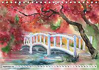 Asiatische Aquarelle (Tischkalender 2019 DIN A5 quer) - Produktdetailbild 9