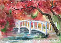 Asiatische Aquarelle (Wandkalender 2019 DIN A2 quer) - Produktdetailbild 6