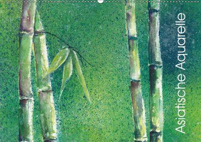 Asiatische Aquarelle (Wandkalender 2019 DIN A2 quer), Jitka Krause