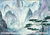 Asiatische Aquarelle (Wandkalender 2019 DIN A2 quer) - Produktdetailbild 2