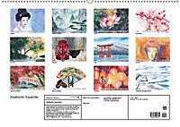 Asiatische Aquarelle (Wandkalender 2019 DIN A2 quer) - Produktdetailbild 13