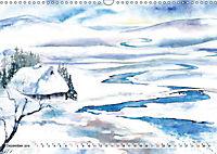 Asiatische Aquarelle (Wandkalender 2019 DIN A3 quer) - Produktdetailbild 12