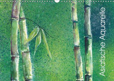 Asiatische Aquarelle (Wandkalender 2019 DIN A3 quer), Jitka Krause