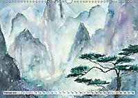 Asiatische Aquarelle (Wandkalender 2019 DIN A3 quer) - Produktdetailbild 2