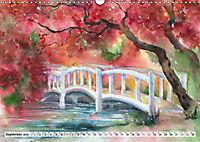 Asiatische Aquarelle (Wandkalender 2019 DIN A3 quer) - Produktdetailbild 9
