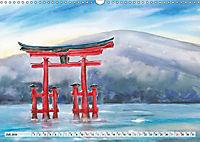 Asiatische Aquarelle (Wandkalender 2019 DIN A3 quer) - Produktdetailbild 7