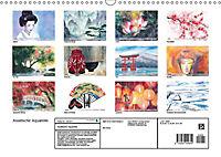 Asiatische Aquarelle (Wandkalender 2019 DIN A3 quer) - Produktdetailbild 13