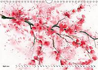 Asiatische Aquarelle (Wandkalender 2019 DIN A4 quer) - Produktdetailbild 4
