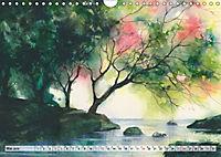 Asiatische Aquarelle (Wandkalender 2019 DIN A4 quer) - Produktdetailbild 5