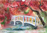 Asiatische Aquarelle (Wandkalender 2019 DIN A4 quer) - Produktdetailbild 9