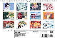 Asiatische Aquarelle (Wandkalender 2019 DIN A4 quer) - Produktdetailbild 13