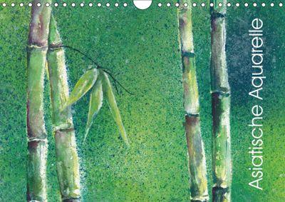 Asiatische Aquarelle (Wandkalender 2019 DIN A4 quer), Jitka Krause