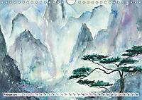 Asiatische Aquarelle (Wandkalender 2019 DIN A4 quer) - Produktdetailbild 2