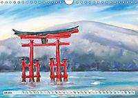 Asiatische Aquarelle (Wandkalender 2019 DIN A4 quer) - Produktdetailbild 7