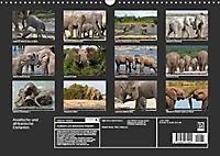 Asiatische und afrikanische Elefanten (Wandkalender 2019 DIN A3 quer) - Produktdetailbild 13