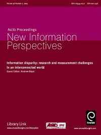 Aslib Proceedings: New Information Perspectives: Aslib Proceedings: New Information Perspectives, Volume 56, Issue 5