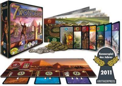 Asmodee 7 Wonders, Kennerspiel des Jahres 2011!, Antoine Bauza