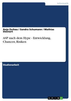 ASP nach dem Hype - Entwicklung, Chancen, Risiken, Sandra Schumann, Anja Zschau, Mathias Steinert