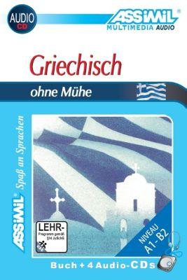 Assimil Griechisch ohne Mühe: Lehrbuch und 4 Audio-CDs