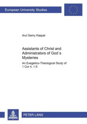 Assistants of Christ and Administrators of God's Mysteries, Arul Samy Kaspar