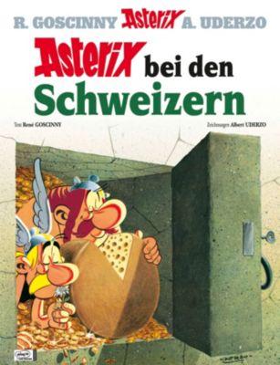 Asterix - Asterix bei den Schweizern, René Goscinny, Albert Uderzo