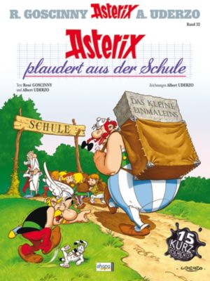 Asterix Band 32: Asterix plaudert aus der Schule, René Goscinny