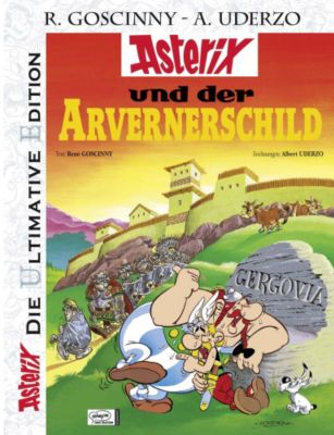 Asterix, Die Ultimative Edition - Asterix und der Arvernerschild, René Goscinny, Albert Uderzo