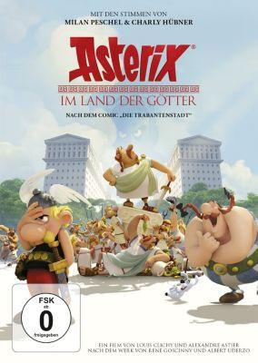Asterix im Land der Götter, René Goscinny