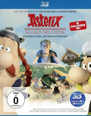 Asterix im Land der Götter - 3D Version, Diverse Interpreten