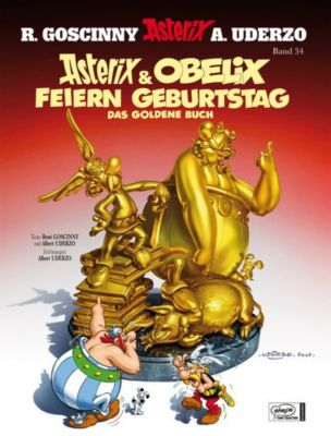 Asterix Jubiläumsedition: Asterix & Obelix feiern Geburtstag, Band 34