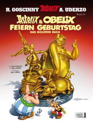 Asterix Jubiläumsedition: Asterix & Obelix feiern Geburtstag, Band 34, Albert Uderzo, Rene Goscinny