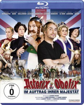 Asterix & Obelix - Im Auftrag Ihrer Majestät, Gérard Depardieu, Edouard Baer