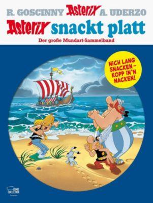 Asterix snackt Platt, René Goscinny, Albert Uderzo