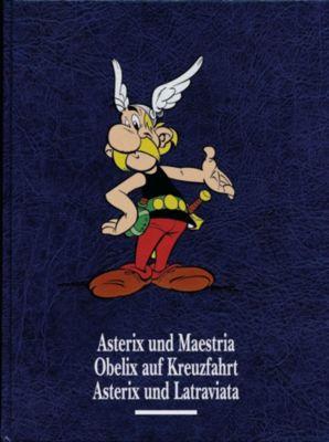 Asterix und Maestria. Obelix auf Kreuzfahrt. Asterix und Latraviata, René Goscinny, Albert Uderzo
