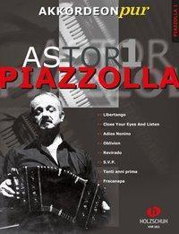 Astor Piazzolla, für Akkordeon, Bearbeitung, Astor Piazzolla