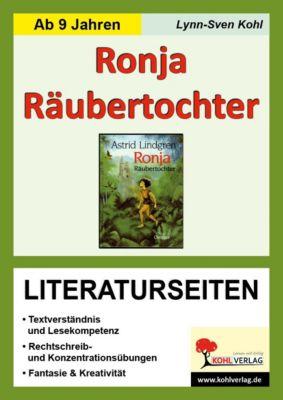 Astrid Lindgren 'Ronja Räubertochter', Literaturseiten, Lynn-Sven Kohl