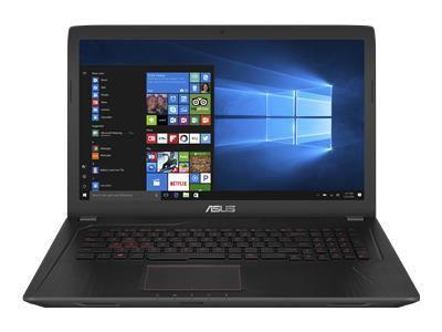 ASUS FX753VD-GC490T Ci7-7700HQ 43,9cm 17,3Zoll 8GB DDR4 1TB HDD SATA NVIDIAGeForce GTX1050 Win10 Black Metal 2J PUR