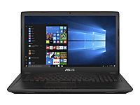 ASUS FX753VD-GC490T Ci7-7700HQ 43,9cm 17,3Zoll 8GB DDR4 1TB HDD SATA NVIDIAGeForce GTX1050 Win10 Black Metal 2J PUR - Produktdetailbild 5