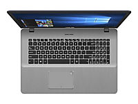 ASUS N705UD-GCJ28T IC i5-8250U 43,9cm 17,3Zoll Non-Glare 8GB DDR4 256GB SSD+1TB HDD SATA NVidia GTX1050 Win10 Dark Grey Metal 2J PUR - Produktdetailbild 2