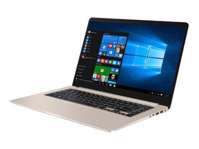 ASUS S510UF-BQR24T ICi7-8550U 39,62cm 15,6Zoll FHD WV USlim Non-Glare 8GB DDR4 256GB SSD+1TB HDD SATA NVidiaMX130 Win10 GoldMetal 2J