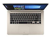 ASUS S510UF-BQR24T ICi7-8550U 39,62cm 15,6Zoll FHD WV USlim Non-Glare 8GB DDR4 256GB SSD+1TB HDD SATA NVidiaMX130 Win10 GoldMetal 2J - Produktdetailbild 3
