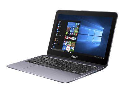 ASUS TP203NAH-BP093T QC N4200 29,5cm 11,6Zoll HD Touch Glare 4GB DDR3 1.000GB HDD SATA Intel HD Win10 Star Grey 1J PUR