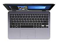 ASUS VIVOBOOK FLIP TP203NAH-BP093T Pentium N4200 29,46cm 11,6Z Touch HD WV Glare 4GB DDR3 1TB HDD SATA IntelHD Win10 StarGrey 1JPUR - Produktdetailbild 3