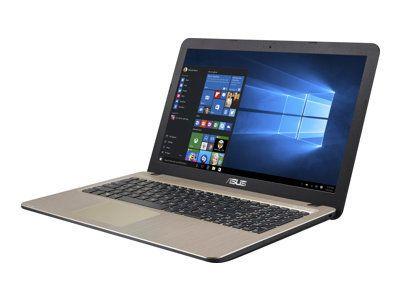 ASUS VIVOBOOK X540NA-GQ151T Pentium N4200 39,62cm 15,6Z Non-Glare 8GB DDR3 256GB SSD SATA3 IntelHD Ext.Drive Win10 ChocoBlack 1J PUR