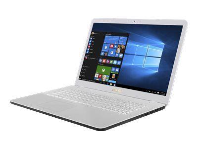 ASUS X705NA-BX106T QC N4200 43,9cm 17,3Zoll Non-Glare 8GB DDR3 1TB HDD SATA IntelHD Win10 White 1J PUR