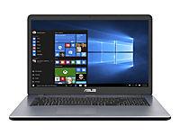 ASUS X705UA-BX065T IC i3-7100U 43,9cm 17,3Zoll Non-Glare 8GB DDR4 1TB HDD SATA IntelHD Win10 Dark Grey 2J PUR - Produktdetailbild 8